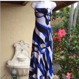 NWT Sandrina Damiano Maxi Dress